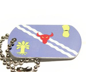 Oxfordshire County Flag Tag